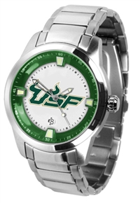 South Florida Bulls Titan Watch - Stainless Steel Band