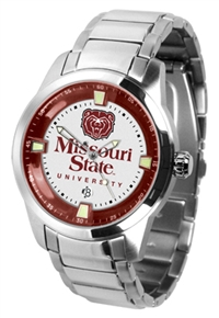Missouri State Bears Titan Watch - Stainless Steel Band