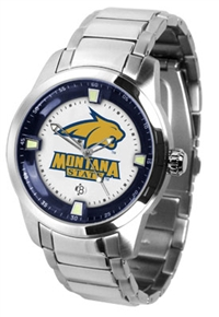 Montana State Bobcats Titan Watch - Stainless Steel Band