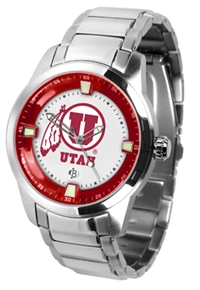 Utah Utes Titan Watch - Stainless Steel Band