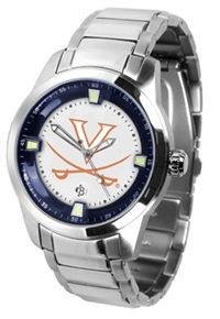 Virginia Cavaliers Titan Watch - Stainless Steel Band