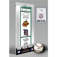 Eddie Murray 500 Home Run Mini-Mega Ticket - Baltimore Orioles