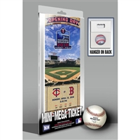 First Game at Target Field Mini-Mega Ticket - Minnesota Twins
