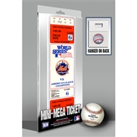 1986 World Series Game 6 Mini-Mega Ticket - New York Mets