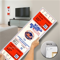 1986 World Series Mega Ticket - New York Mets