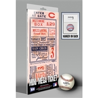 1927 World Series Mini-Mega Ticket - New York Yankees