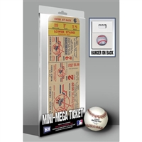 1949 World Series Mini-Mega Ticket - New York Yankees