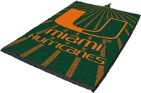 Miami Hurricanes Jacquard Golf Towel