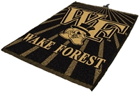 Wake Forest Demon Deacons Jacquard Golf Towel