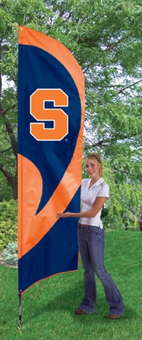 Syracuse Orange Tall Team Flag with Pole