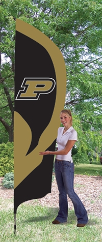Purdue Boilermakers Tall Team Flag with Pole