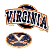 Virginia Cavaliers Slider Hat Clip Ball Marker