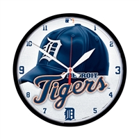Detroit Tigers MLB Round Wall Clock