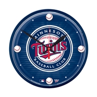 Minnesota Twins MLB Round Wall Clock