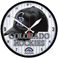 Colorado Rockies MLB Round Wall Clock