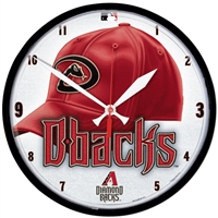 Arizona Diamondbacks MLB Round Wall Clock