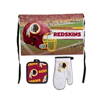 Washington Redskins NFL Premium 3-Piece Barbeque Tailgate Set