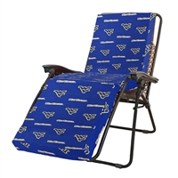 West Virginia (WVU) Mountaineers Zero Gravity Chair Cushion (20x72x2)