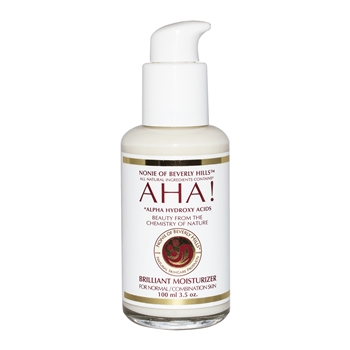 AHA! Brilliant Moisturizer 3.5 oz - For Normal/Combination Skin