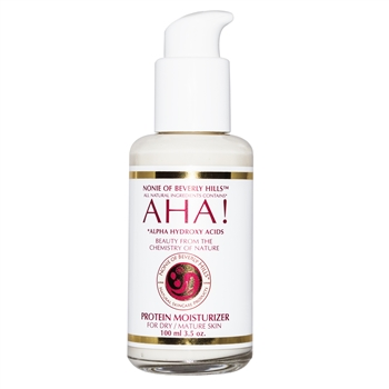 AHA! Protein Moisturizer 3.5 oz - for Dry/Mature Skin