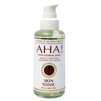AHA! Skin Tonic 7.0 oz - for All Skin Types