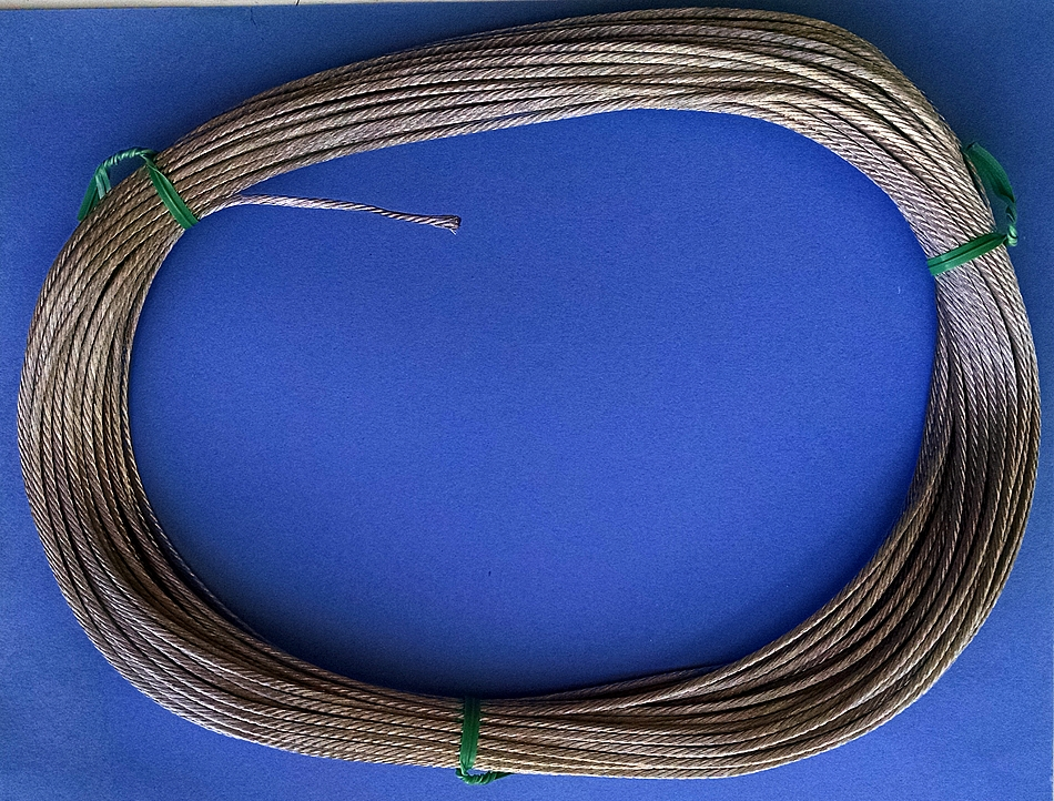 RF Flex Weave 12 Gauge Bare Copper Antenna Wire Rope