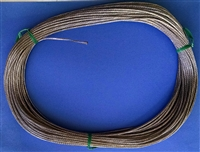 Davis RF Flex Weave 12 Gauge Tinned Antenna Wire Rope