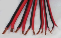 Davis RF ZIP-1802-RB - 18 Gauge Red / Black Automotive Zip Cord