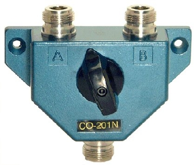JETSTREAM CO201N - 2 Pole RF Switch with Type N Female Connectors - OUT OF STOCK