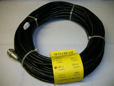 Jetstream JT1806HD100 - 100' JT1806HD With Yaesu Rotor Control Cable with Connectors Installed