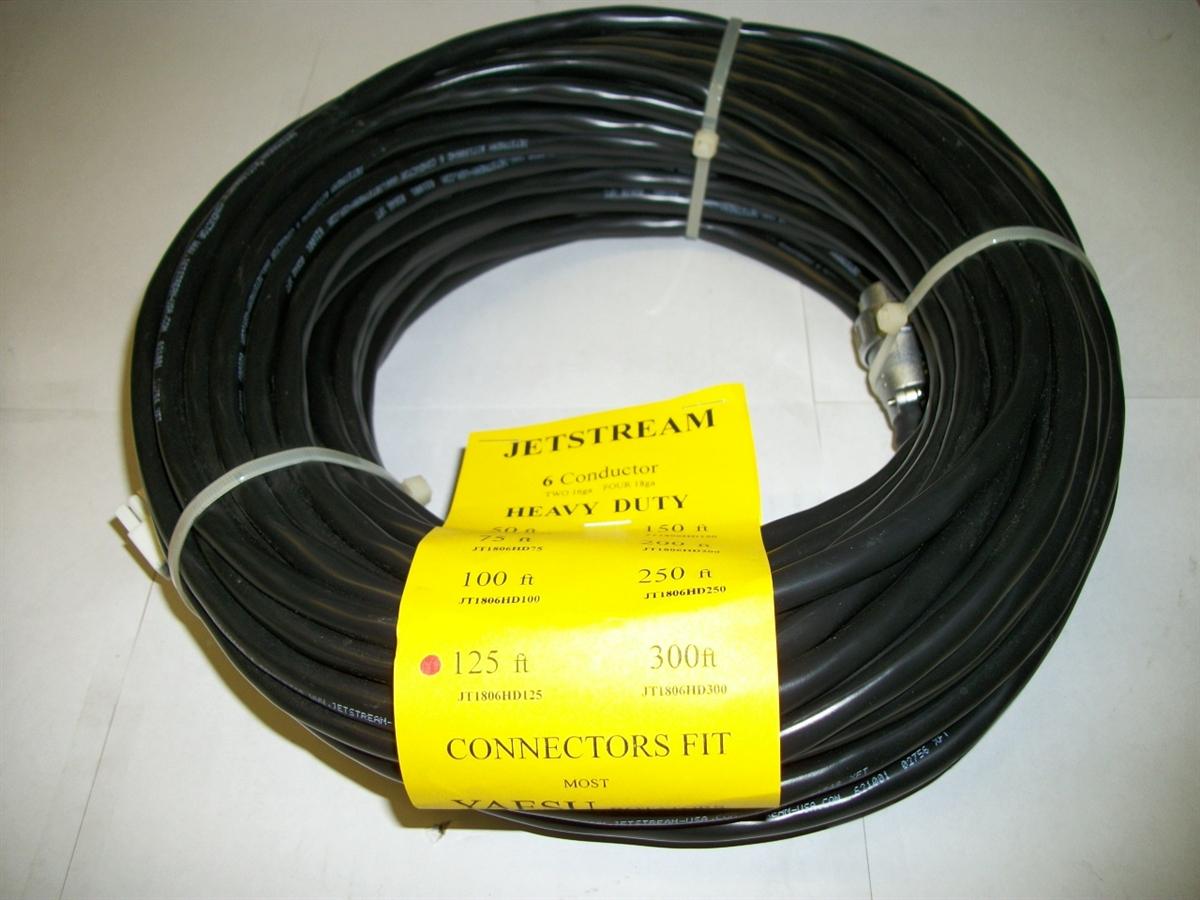 Jetstream JT1806HD75 75 Rotor Cable with Yaesu Connectors