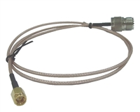 Jetstream JT4110J6 - SMA Male to UHF Female Jumper Cable - 6 Feet