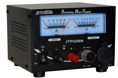 Jetstream JTPS28M 9 - 15 VDC / 28 Amp Power Supply