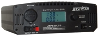 Jetstream JTPS30LCD - Adjustable 9-15 VDC / 30 Amp Power Supply with Digital LCD Volt and Current Meter