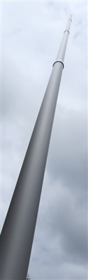 20 Foot Telescoping Aluminum Mast - For WiFi, Portable Antennas, Elevated Photograghy & More! - OUT OF STOCK
