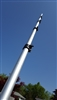21 Foot Telescoping Aluminum Mast - For WiFi, Portable Antennas, Elevated Photograghy & More!