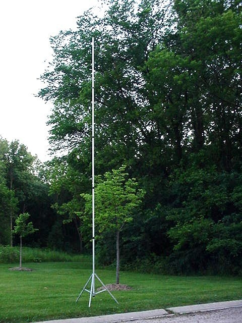 21 Foot Telescoping Aluminum Mast - For WiFi, Portable Antennas, Elevated  Photograghy & More! - BACKORDER *