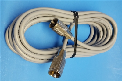 Workman 8X20PLPLA 20 Foot RG-8X Coaxial Cable With Installed PL-259 Connectors