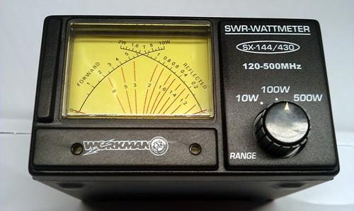 Workman Sx-144  430  Uhf Swr  U0026 Power Meter