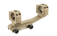 Warne Gen 2 Extended Skeletonized 1 inch MSR Mount FDE