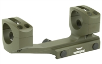 Warne Gen 2 Extended Skeletonized 1 inch MSR Mount OD