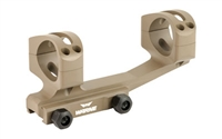 Warne Gen 2 Extended Skeletonized 30mm MSR Mount FDE