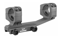 Warne Gen 2 Extended Skeletonized 30mm MSR Mount Gray