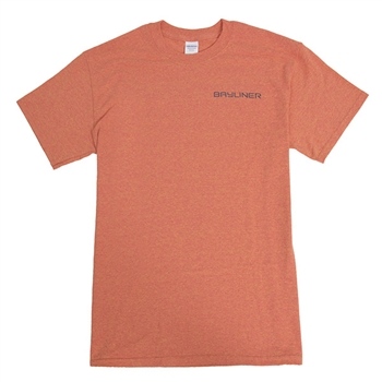 Logo Tee - Sunset Orange