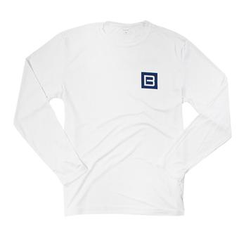Performance L/S Sun Tee - White
