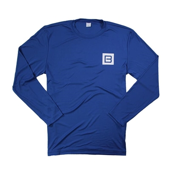 Performance L/S Sun Tee - Royal