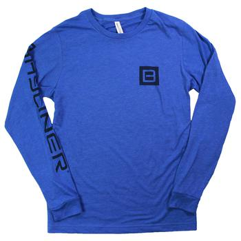 Jersey L/S Tee - Heather True Royal