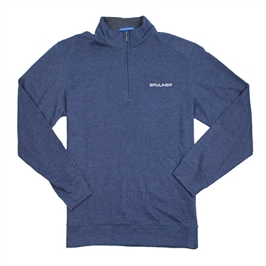1/4 Zip Pullover - Estate Blue