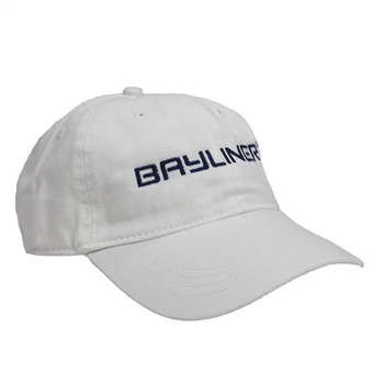 Bayliner Twill Cap - White