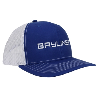 Bayliner Classic Trucker Cap - Royal / White